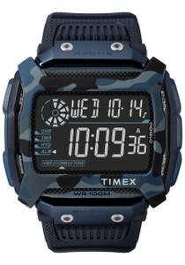 63f818bbe Timex Command Shock Digital Blue Camo (TW5M20500)