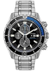 4e4c4c2c7a5 Citizen Eco-Drive Promaster Diver Black Blue