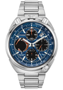 77017772e31 Citizen Eco-Drive Tsuno Chrono Racer Blue Orange