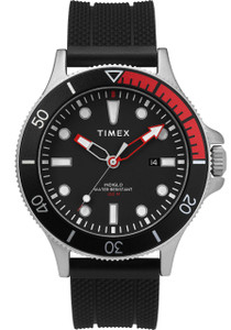 cc66b5899e3f Timex Allied Coastline Indiglo Black Red (TW2T30000) front