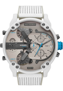 e8a6044c5245 Diesel DZ7419 Mr. Daddy 2.0 Chronograph White Gray