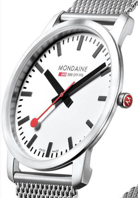 Mondaine Ultra Thin Men s Mesh  7d26c0be38