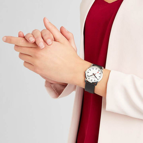Mondaine Ultra Thin Ladies White (A400-30351-11SBB)