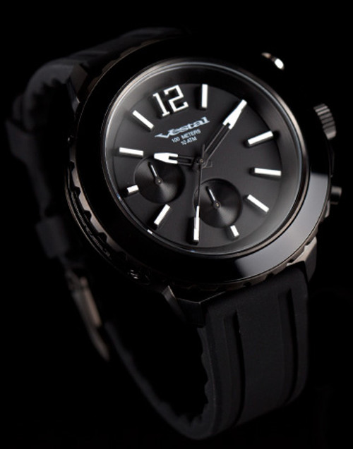 Vestal Yacht Chronograph Black/Lume (YATCS01)