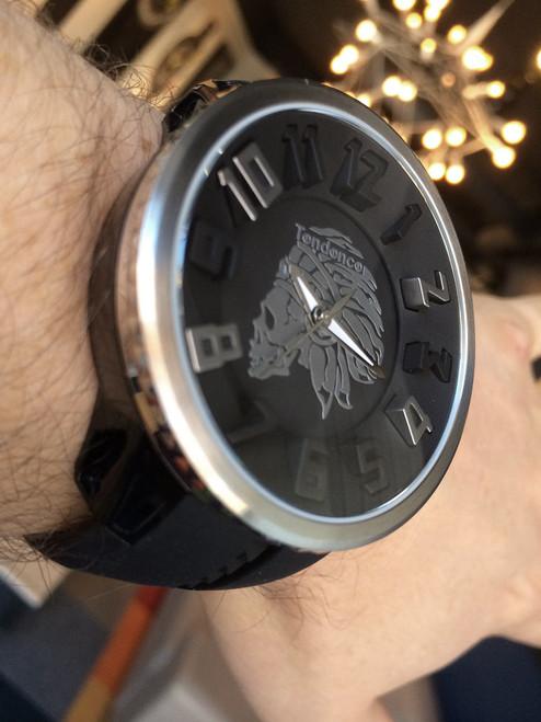 Tendence Apache Skull Silver
