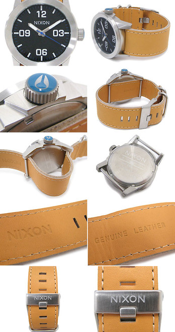 Nixon Private Leather Natural