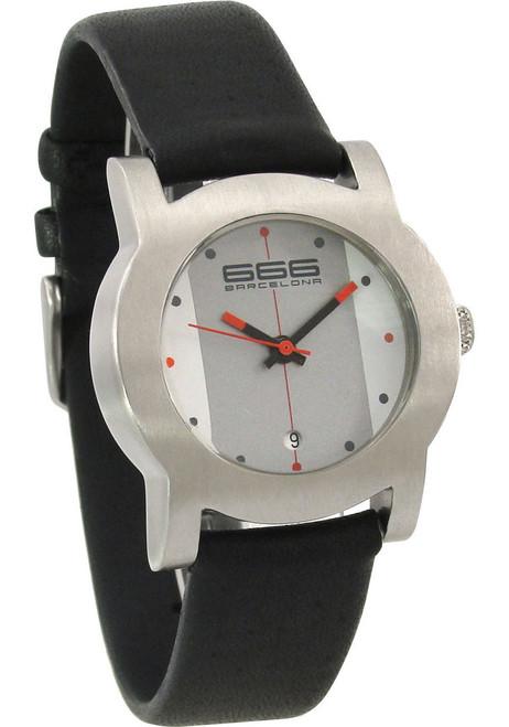 666 Primeon Leather White/Grey