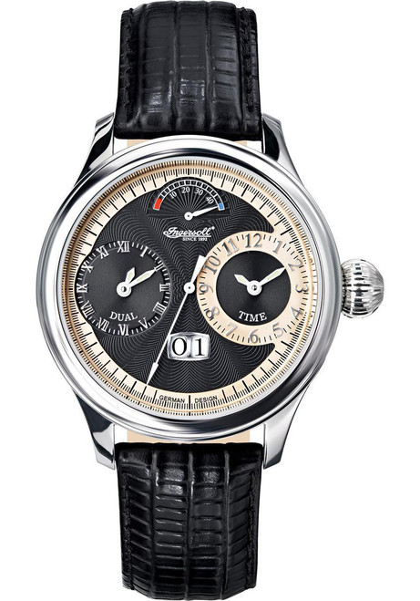 Ingersoll Dual Time Limited Edition Automatic Black