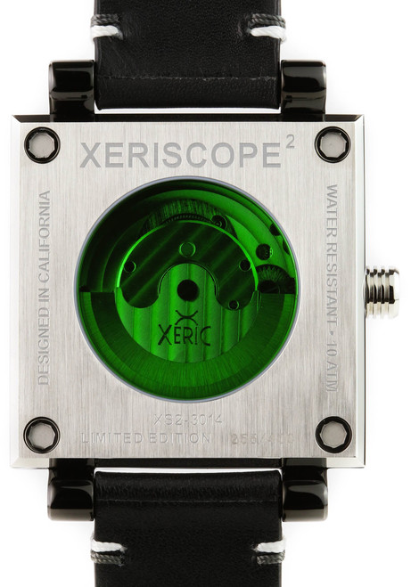 Xeric Xeriscope Squared Black/Steel (XS2-3014) back