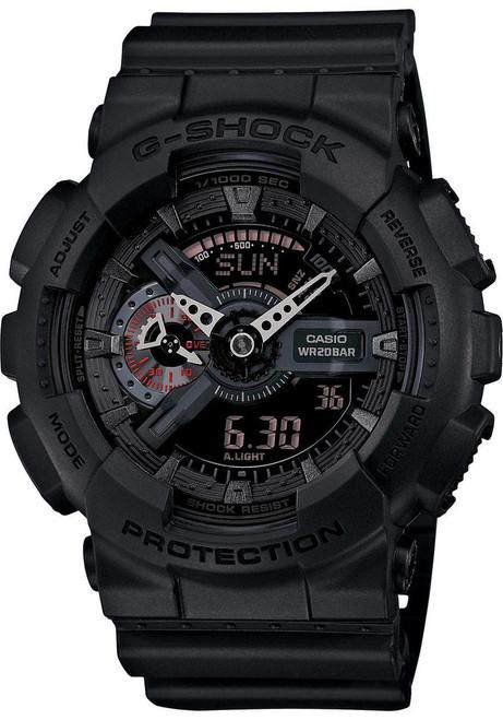 84b9f1e145db G-Shock Classic Military X-Large Matte Black