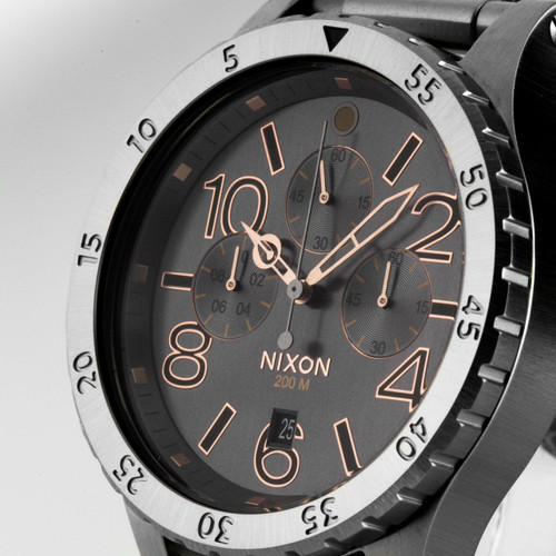 Nixon 48-20 Chrono Gray/Steel (A4862064)