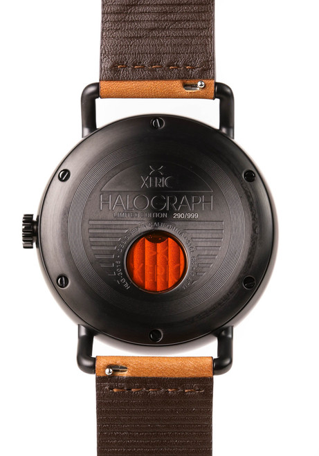 Xeric Black/Tan Halograph Automatic Limited Edition caseback