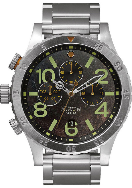 Nixon 48-20 Chrono SS Dark Copper (A4861956)