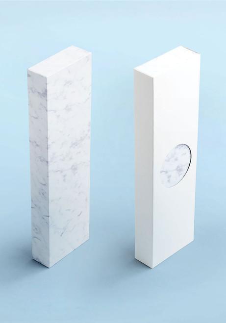 AARK Collective Marble Carrara White Italian Leather