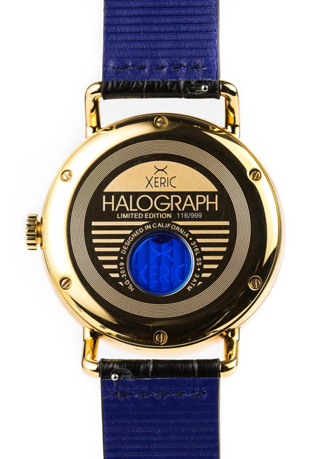 Xeric Black/Gold Halograph Automatic Limited Edition caseback