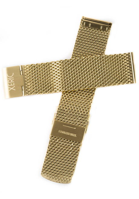 Xeric Gold Mesh Strap