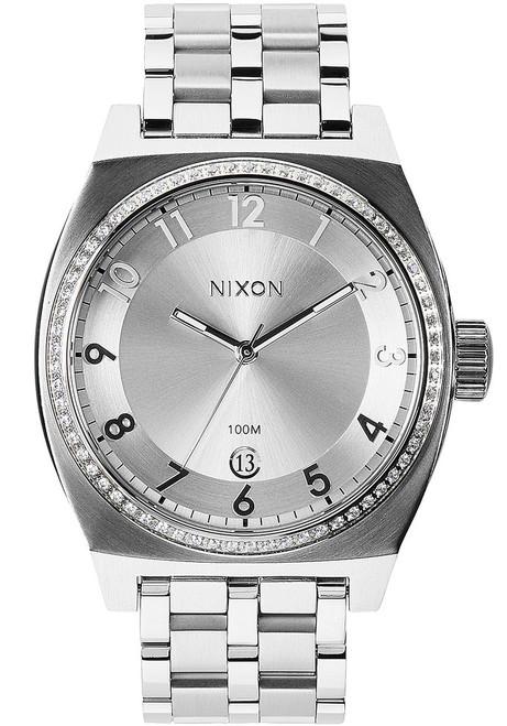Nixon Monopoly All Silver Crystal