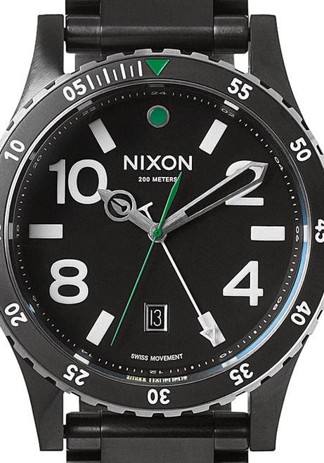 Nixon Diplomat SS Black/Silver/Green (A2771421)