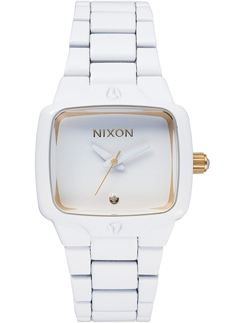 Nixon Small Player All White/Gold