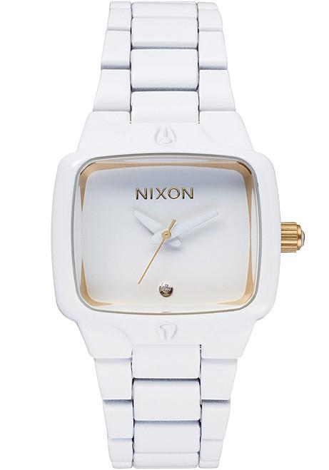 Nixon Small Player All White/Gold