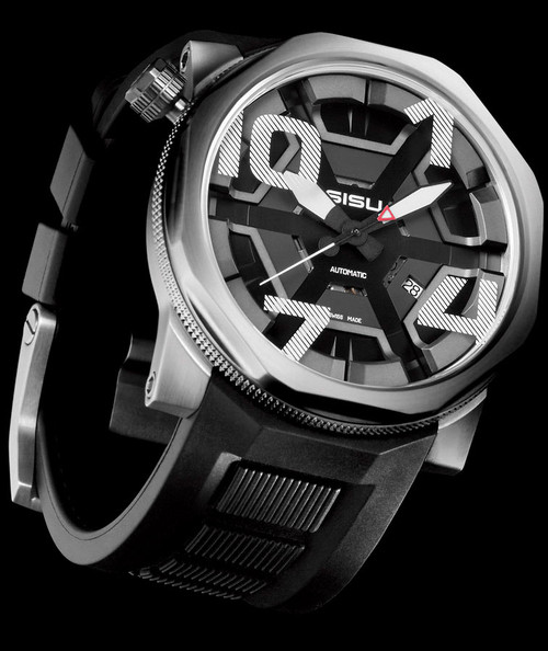 "SISU Bravado BA7-50-RB ""CAGE"" Swiss Automatic Ltd. Edition"