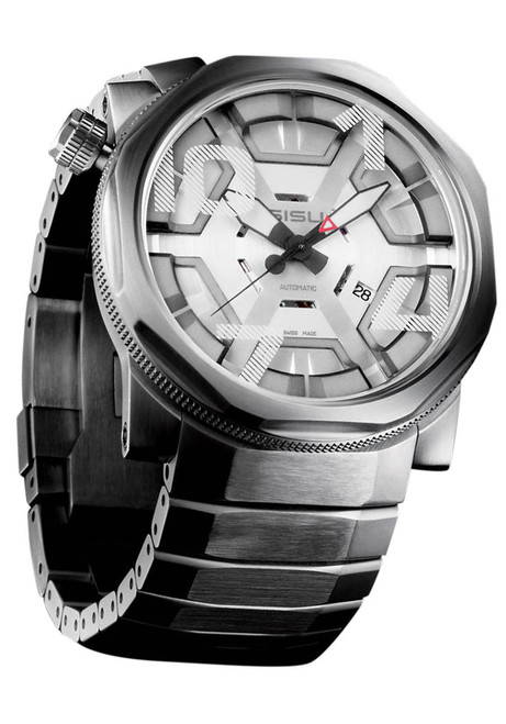 "SISU Bravado BA8-50-SS ""CAGE"" Swiss Automatic Ltd. Edition"