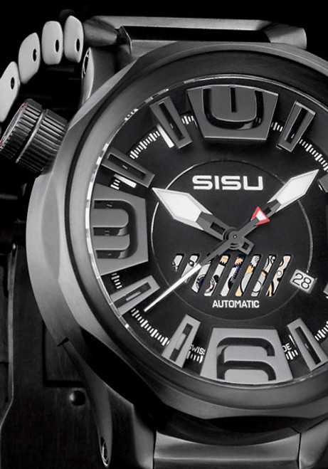 SISU Guardian GA4-50 Eclipse Swiss Automatic Ltd. Edition