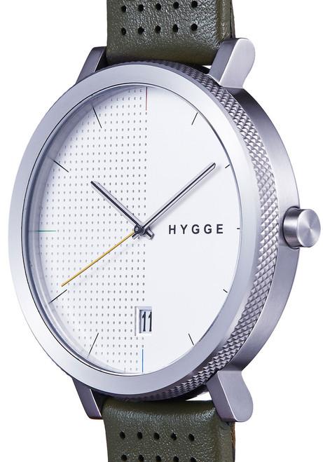Hygge 2203 Duality Leather Khaki (MSL2203C-KA)