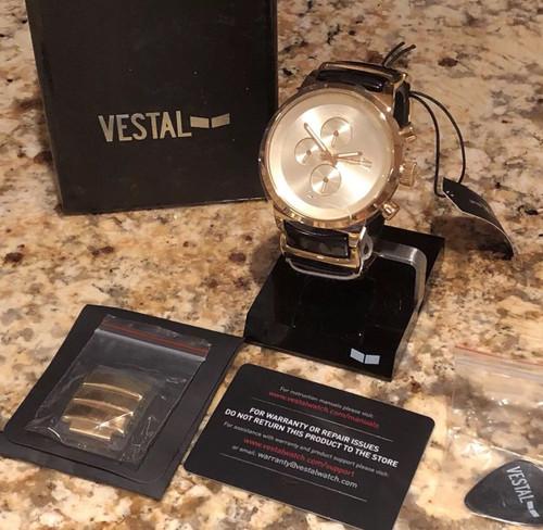 Vestal METCA08 Metronome Gold/Black (METCA08)