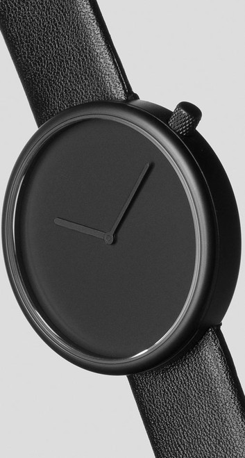 Bulbul Ore 01 Black Steel / Black Italian Leather