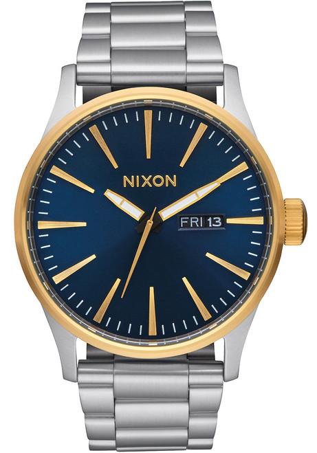 Nixon Sentry SS Gold/Blue Sunray
