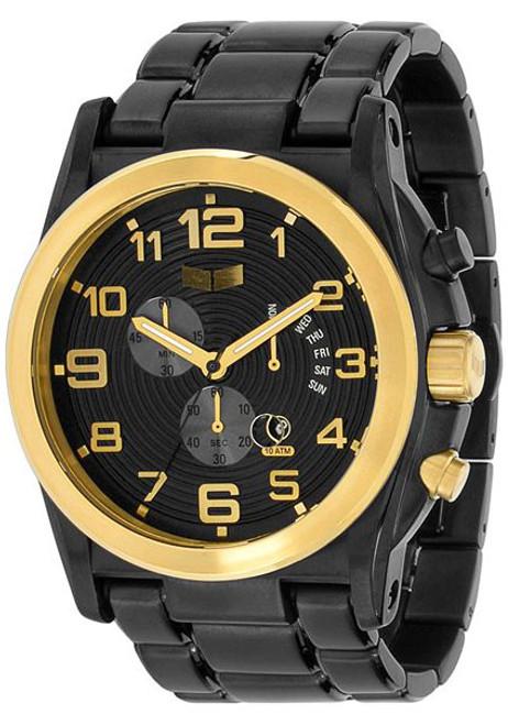 Vestal DEV013 De Novo Chronograph Black Gold
