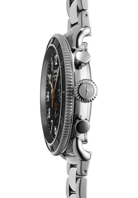 Shinola Runwell Sport 48mm, Silver Bracelet Watch case