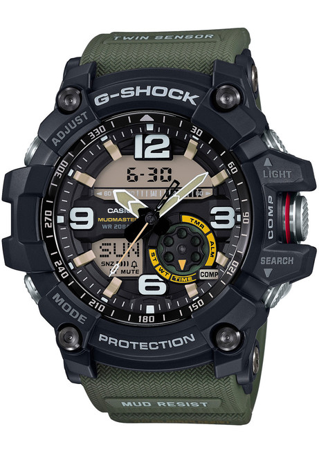 G-shock Mudmaster Military Green (GG-1000-1A3)