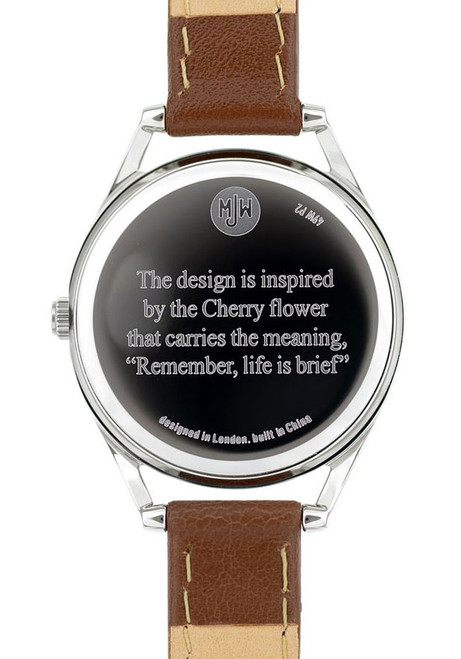 Mr. Jones Cherry Floriographic Ladies Watch