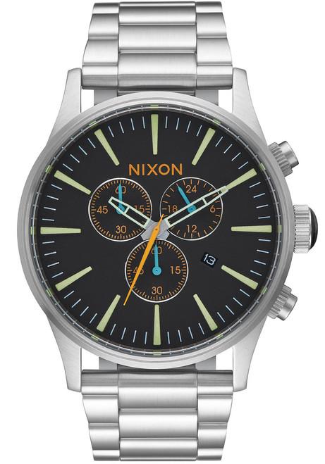 Nixon Sentry Chrono Black Multi (A3862336)
