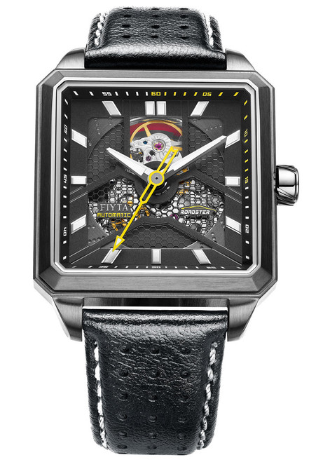 Fiyta Roadster Square Automatic Skeleton Black (GA866001.HBB)