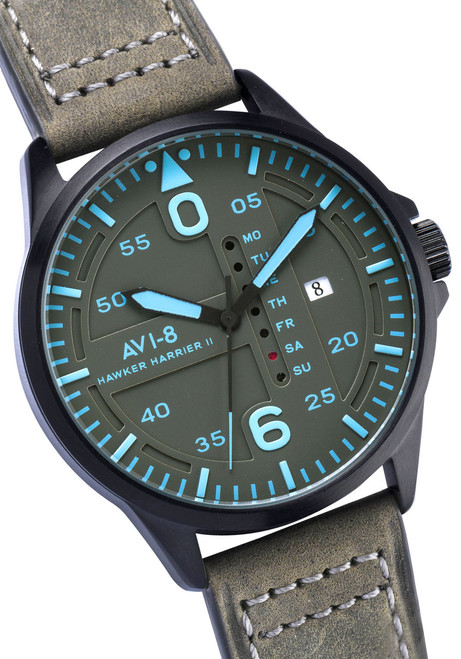 AVI-8 Hawker Harrier II Date Black Blue (AV-4003-0A)