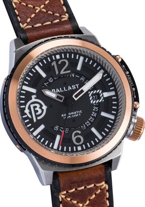 Ballast Trafalgar Automatic Brown/Silver Dial (BL-3133-01)