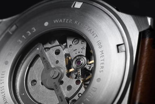 Ballast Trafalgar Automatic Brown/Silver Caseback (BL-3133-01)