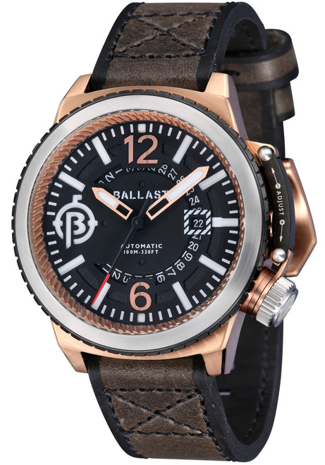 Ballast Trafalgar Automatic Brown/Rose Gold Main (BL-3133-02)