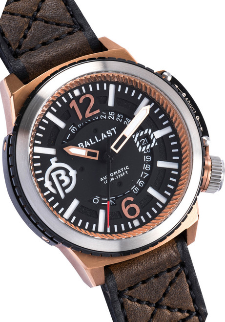 Ballast Trafalgar Automatic Brown/Rose Gold Dial (BL-3133-02)