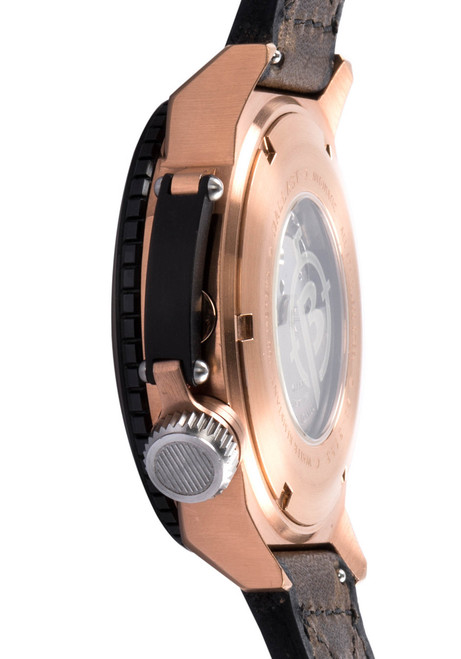Ballast Trafalgar Automatic Brown/Rose Gold Side (BL-3133-02)