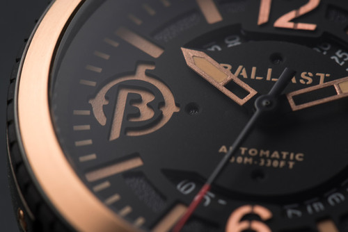 Ballast Trafalgar Automatic Brown/Black Caseback (BL-3133-03)