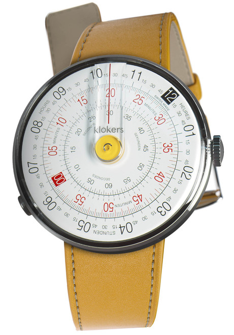 Klokers Klok-01-D1 Newport Yellow Leather (KLOK-01-D1-KLINK-01-MC7)