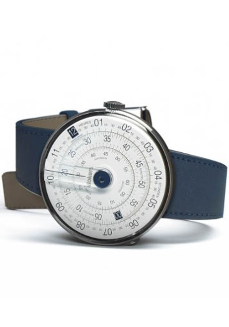Klokers Klok-01-D4 Indigo Blue Leather (KLOK-01-D4-KLINK-01-MC3)