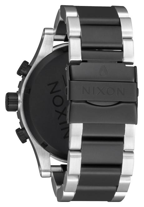 Nixon 51-30 Chrono Black Rose Gold (A0832051)