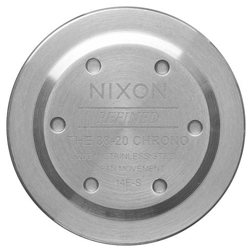 Nixon 38-20 Chrono Silver Sky Gunmetal