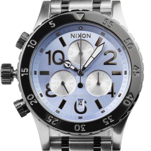 Nixon 38-20 Chrono Silver Sky Gunmetal (A4042363)