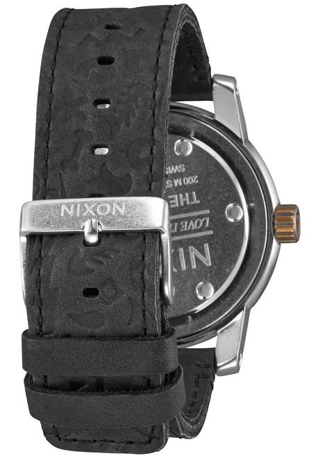 Nixon Patriot Leather Black Brass (A9382222)